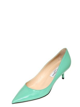Jimmy Choo 50mm Aza Patent Leather Pumps