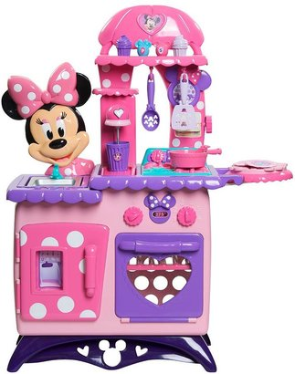 Disney mickey mouse & friends minnie mouse bow-tique flipping fun kitchen & dress gift set