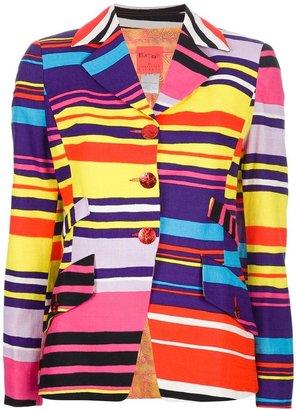 Christian Lacroix Vintage striped blazer