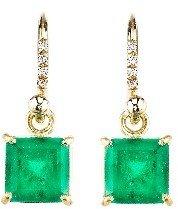 Irene Neuwirth Emerald Earrings