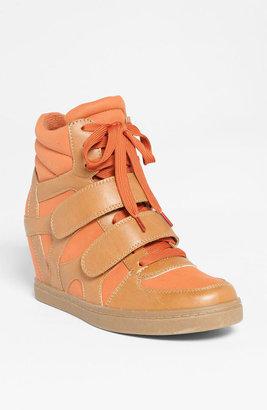 N.Y.L.A. 'Blinder' Sneaker Womens Cognac Size 10 M 10 M