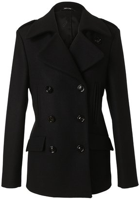 Maison Martin Margiela Double-breasted wool and cashmere peacoat