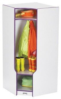 Jonti-Craft Rainbow Accents 1 Section Preschool Cubby Locker Color: Blue