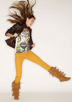 Morgan Low-Rise Skinny Jean - Goldenrod