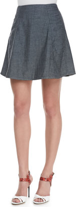 Theyskens' Theory Sune Pleated Short Skirt