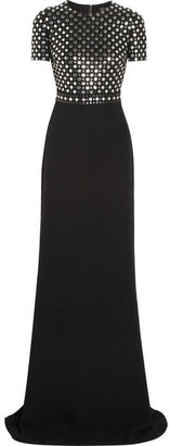 Burberry Studded crepe gown
