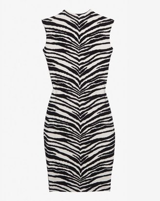Nadia Tarr Exclusive Zebra Print Jersey Dress
