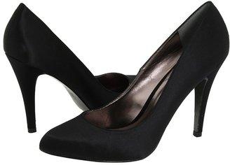 Charles by Charles David Pompadour (Black Satin) - Footwear