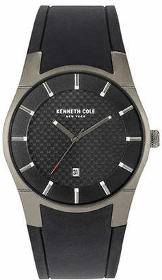 Kenneth Cole New York Woven Dial Analog Watch