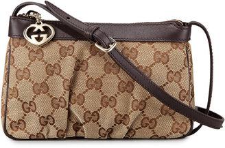Gucci Mini Zip-Top Crossbody Bag