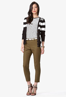 Forever 21 Essential Tapered Trousers