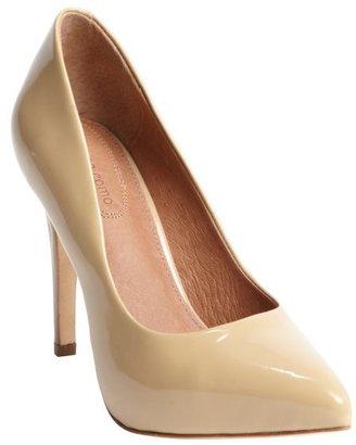 Corso Como beige patent leather 'Blair' pumps