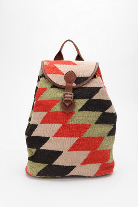 Urban Outfitters Ecote Aztec Drawstring Backpack