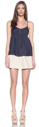 Juicy Couture Women's Washed Silk Cami