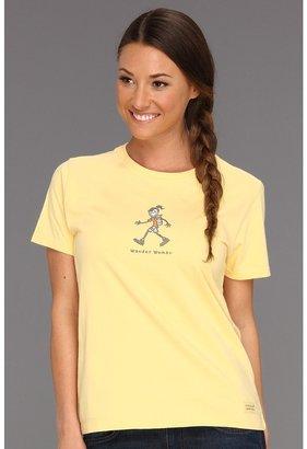 Life is Good Wander Women Crusher Tee (Sunny Yellow) - Apparel