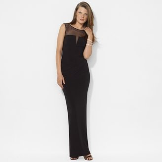Ralph Lauren Sleeveless Jersey Gown