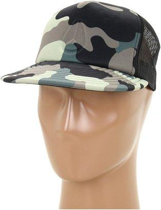 Nixon Snapshot Trucker Hat (Woodland Camo) - Hats