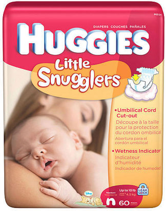 Kimberly Clark Corp. Huggies 60Ct Little Snugglers Diapers - Newborn
