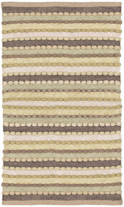 WEAVE AND WANDER Feizy Rugs Striped Chindi Rectangular Rug