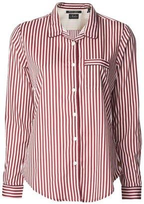 Maison Scotch stripe print shirt