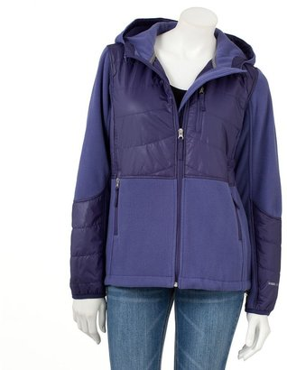 Free Country hooded quilted fleece jacket - women's