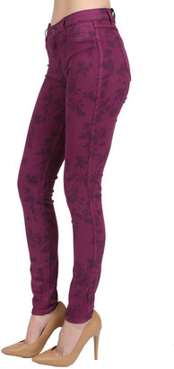 Bleu Lab Bleulab Detour Legging in Vines/Amethyst