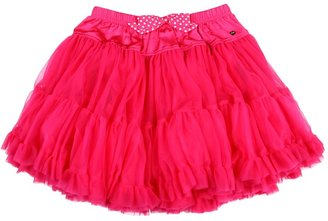 Juicy Couture Tulle Skirt (Toddler/Little Kids/Big Kids) (Electric Pink) - Apparel