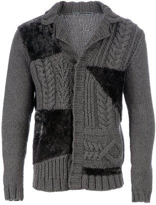 5+1_Annapurna Cable knit cardigan
