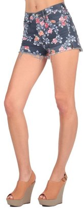 Citizens of Humanity Chloe High Waisted Short in Navy Petite Rose