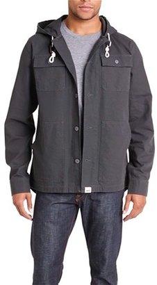 Vans 'Lismore' Canvas Cotton Hooded Jacket