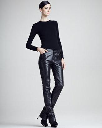 Ralph Lauren Black Label Kyler Leather Pants
