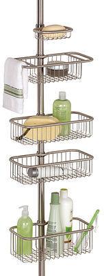 InterDesign Bath Accessories, Forma Ultra Tension Shower Caddy