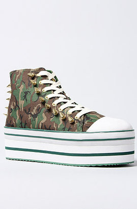 Camo Y.R.U The Elevation Sneaker