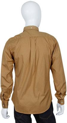 Gant Dreamy Oxford Hugger Buttondown Shirt in Olive Drab