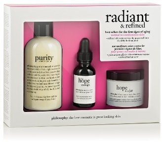 Philosophy 'Radiant & Refined' Skincare Set $70 thestylecure.com