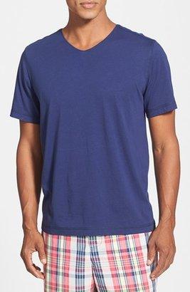 Men's Daniel Buchler V-Neck Peruvian Pima Cotton T-Shirt $55 thestylecure.com