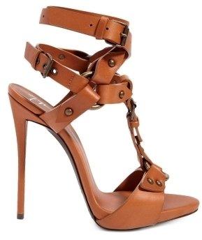 Giuseppe Zanotti Ankle Wrap T-Strap Sandal