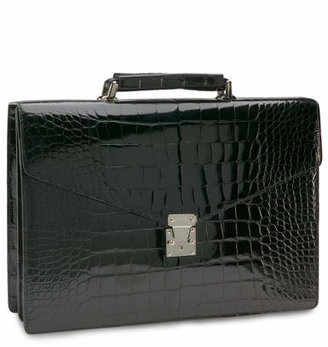 Brooks Brothers Alligator Billfold Briefcase