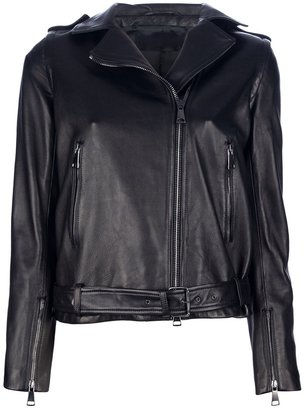 MSP leather biker jacket