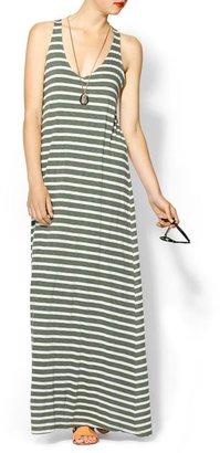 Splendid Mediterranean Stripe Maxi Dress