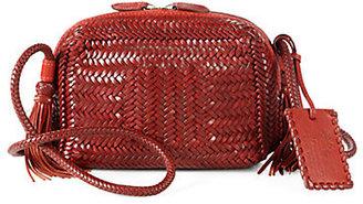 Ralph Lauren Vacchetta Woven Mini Shoulder Bag