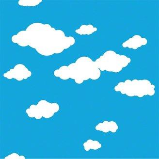 Wall Candy Arts WallCandy Arts Summer Clouds Wallpaper Half Kit (2 pc)
