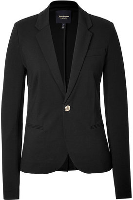 Juicy Couture Ponte One Button Blazer