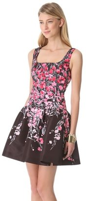 RED Valentino Lily Drop Waist Dress