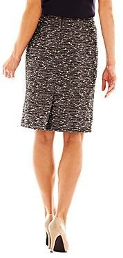 JCPenney 9 & Co.® Tweed Skirt