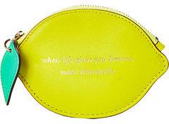 Kate Spade Kae Spade New York Via Limoni Lemon Coin Purse Walle
