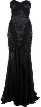 Murad Zuhair strapless silk dress