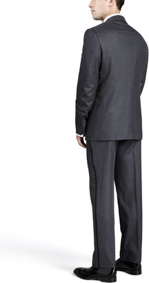 Vince Isaia Single-Breasted Flannel Tuxedo, Charcoal