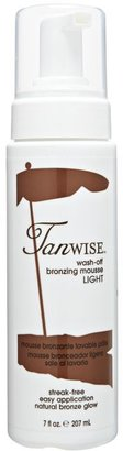 Tanwise Light Wash-Off Mousse $12.99 thestylecure.com
