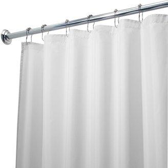 InterDesign Waterproof Fabric Shower Curtain Liner - 72'' x 108''